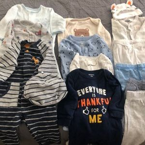 3 month clothing bundle (27+ pieces)